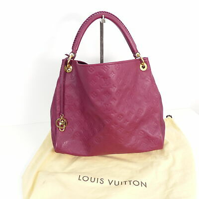 59a3452b4162b LOUIS VUITTON Artsy MM Monogram Empreinte Leather Aurore Echt Leder  Schultertasc