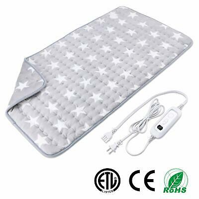 XXXLarge Heating Pad for Muscle Pain Relief with Strap Electric Heat Therapy