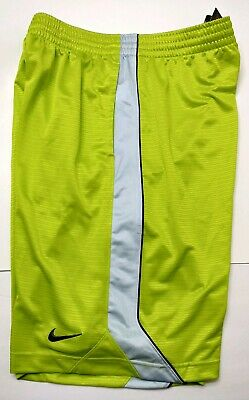 low priced 6af20 d6234 NIKE Men s Dri-FIT LAYUP BASKETBALL Shorts Green Gray - Size Larg NWT