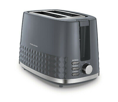Morphy Richards 220024 Grey Dimensions 2 Slice Toaster