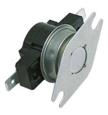 Contact Thermostat 85°C 1-polig 1NC Connection Flat Plug 6,3mm Hole Distance
