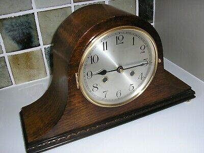 1920's CLASSIC ENGLISH MANTLE CLOCK (CONVERTED)