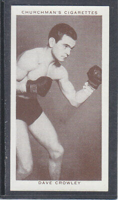 Churchman - Boxing Personalities 1938 - # 9 Dave Crowley