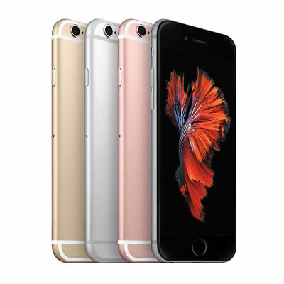 New Apple iPhone 6s 32/64/128GB Gold/Silver/Grey/Rose Unlocked GSM 1Yr Warranty