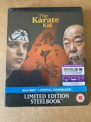 The Karate Kid (1984) Blu Ray - Limited Edition Steelbook - New & Sealed