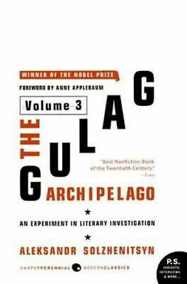 NEW The Gulag Archipelago, 1918-1956 : Volume 3 By Aleksandr Solzhenitsyn