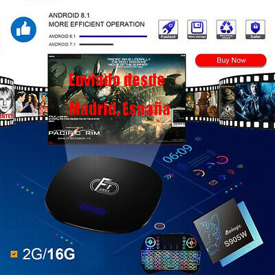 A95X F1 Android 8.1 TV Box 2GB 16GB Amlogic S905W 2.4G WiFi Reproductor De Vídeo