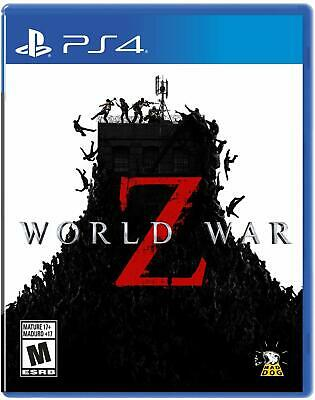 World War Z The Game (PlayStation 4/ ps4) Brand New & Factory sealed.