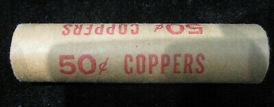 1983 Canada One Cent Roll of Red Pennies