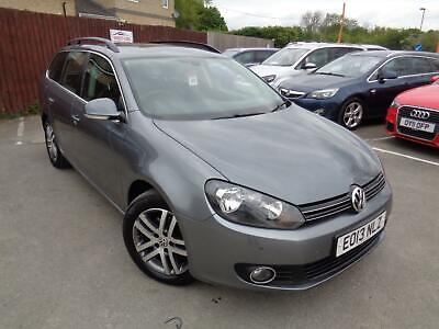 2013 Volkswagen Golf 1.6TDI SE £30 Tax, 1 Owner, Full Service, History, Year MOT
