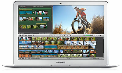 "Apple MacBook Air 13.3"" Laptop - MD760LL/A (Mid 2013) 1.3GHz Core i5 4GB 128GB"