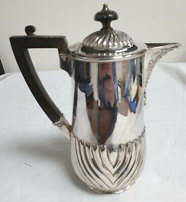 Victorian / Edwardian Silver Plate James Dixon & Sons Hot-Water Jug / Pot