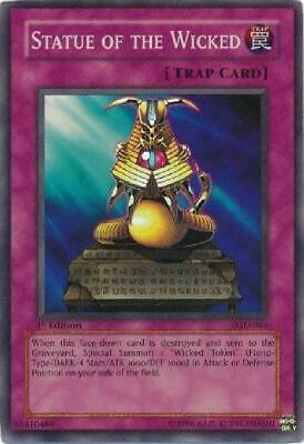 5x Statue of the Wicked - PGD-046 - Super Rare PL Pharaonic Guardian Yugioh