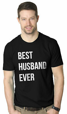 bb1864de Mens Best Husband Ever T shirt Funny T shirts for Dad Fathers Day Gift  Sarcasm
