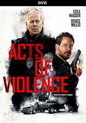 Acts Of Violence (2017),Excellent DVD, Sophia Bush,Mike Epps,Ashton Holmes,Shawn