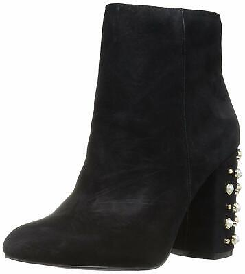 Ankle BootsNavy Womens Suede Bing Anine Riding Bianca Round Toe DIWEH29