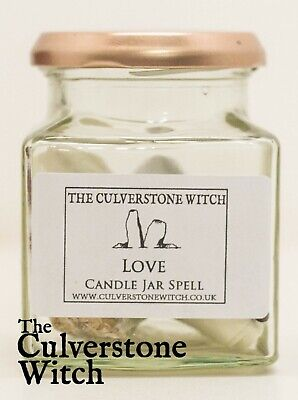 Candle Spell Jar - Choose from List - Witch Pagan Wicca Witchcraft Magic Ritual