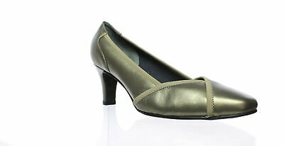Rose Petals Womens Rayna Pewter Pumps Size 8 (C,D,W) (331322)