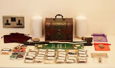 Starter Herb Witch Chest Kit - Apothecary Wicca Spell Pagan Witchcraft Voodoo