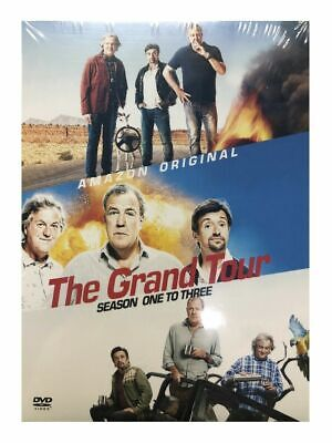The Grand Tour Season 1-3 DVD 1st 2nd 3rd Series Box Set Brand New Limited Stock