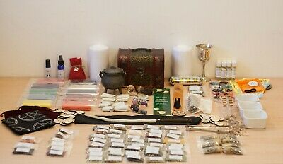 Huge Starter Witch Chest Kit - Apothecary Wicca Spell Pagan Witchcraft Voodoo