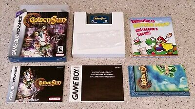 GOLDEN SUN: LOST Age Game Boy Advance game w/ CASE GBA - $12.98 ...