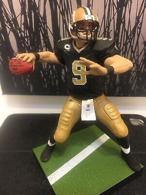 "Drew Brees New Orleans Saints Mcfarlane NFL 4/"" Playmakers READ"