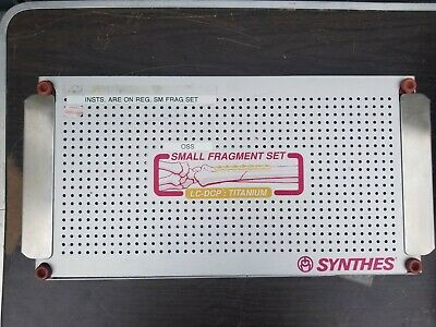 Synthes Small Fragment Set - Self-Tapping