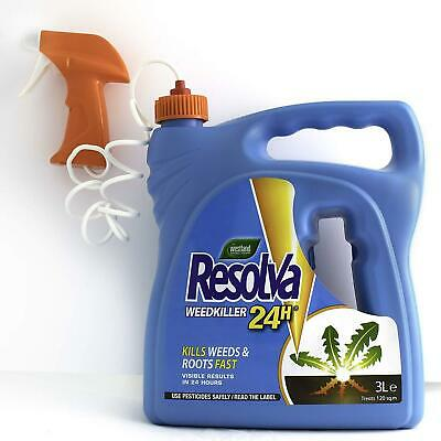 West Land 24H Ready To Use 3L Strong Herbicide Glyphosate Weed Killer 3 Litre