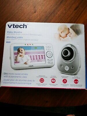 """VTech 5"""" Video Baby Monitor with Two-Way Communication (VM352)"""