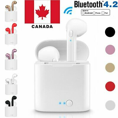 Wireless Bluetooth Earbuds Earphones Headphones for Apple iPhone Samsung Headset