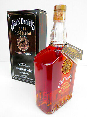 Jack Daniels 1914 Gold Medal Tennessee Whiskey Litre 43% Box/unregistered Tag!