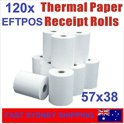 157x38mm Premium EFTPOS Thermal Paper Cash Register Receipt 20 Bulk Rolls