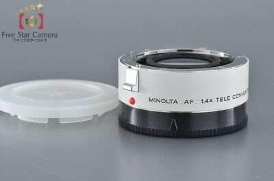 Excellent+++!! Minolta AF 1.4x TELE CONVERTER-II APO from Japan