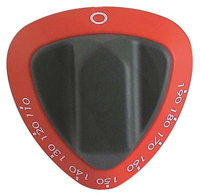 Angelo Po Knob for Fryer 0a1fr3gd, 0d1fr3gd, 1d1fr4gd for Thermostat Red