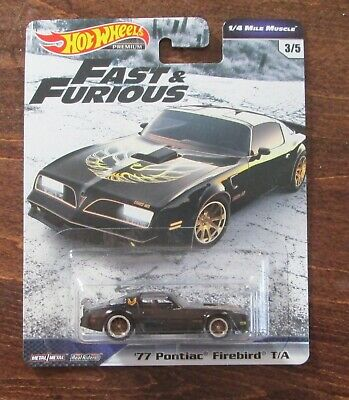 HW's 1/4 Mile Muscle (Fast & Furious ) '77 Pontiac Firebird T/A Real Riders