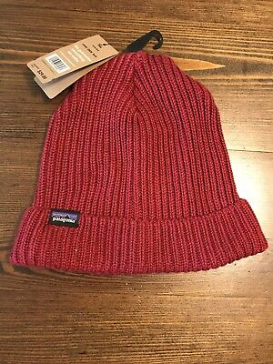 29243d8748cc New Patagonia Fisherman's Rolled Beanie Men/Women One Size Oxide Red $29