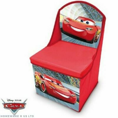 Boys Childrens Pj Masks Bedroom Storage Stool Toy Box Cube Blue Chests Ottoman