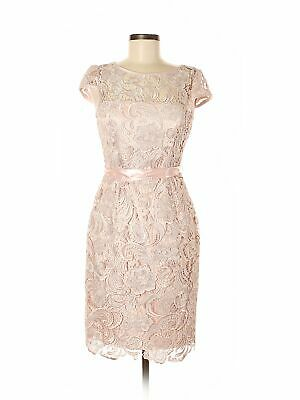 42be152a5438 ANTHROPOLOGIE ADRIANNA PAPELL Nadine Lace Embroidered Dress 6 S M ...
