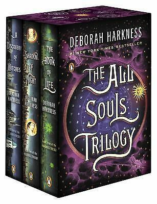 All Souls Trilogy Set by Deborah Harkness Series 3 Books (PDF)(FAST DELIVERY)