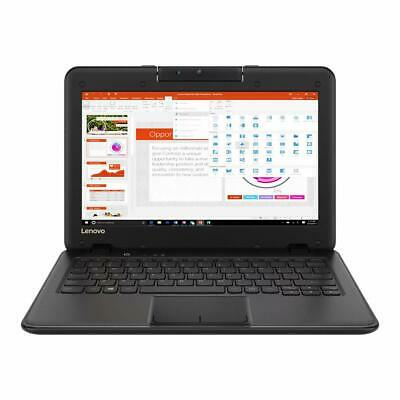 "Lenovo Winbook 100e 11.6"" Laptop 4GB RAM 64GB SSD Intel Celeron Windows 10S B+"