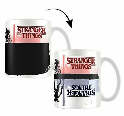 Stranger Things Taza cambiacolor Producto Oficial