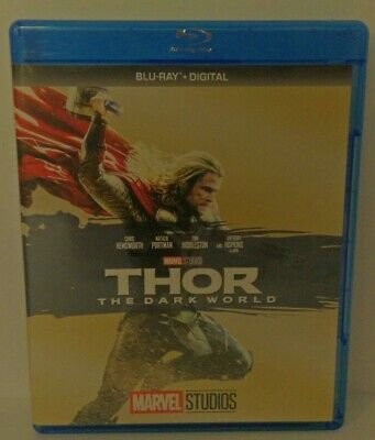 Thor: The Dark World (Blu-ray Disc, 2017) Marvel Phase Two