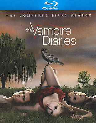 The Vampire Diaries: The Complete First Season (Blu-ray 2010 4-Disc) NEW!