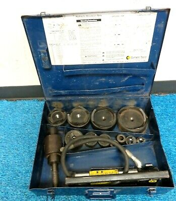 CURRENT TOOL 154PM HYDRAULIC KNOCKOUT PUNCH AND DIE SET 1/2-4 inch