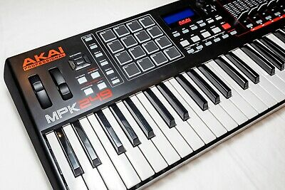 NEW Akai MPK249 Performance Keyboard Controller with Abelton Live Lite and box