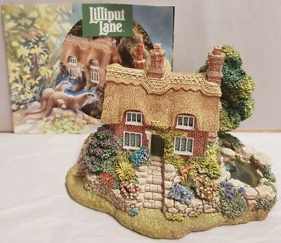 Lilliput Lane Watermeadows 1994 Anniversary Model Unboxed