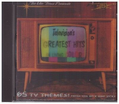 Television's Greatest Hits CD - Vol.5: In Living Color  BRAND NEW