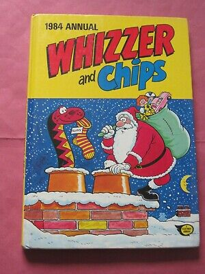 Vintage WHIZZER and CHIPS & Annual Hardback 1984 Comic Book Sid's Snake Shiner