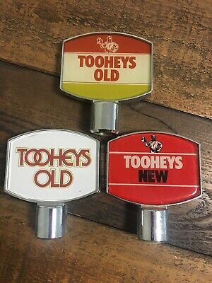 Tooheys Beer Tap Tops (3) Old Ones